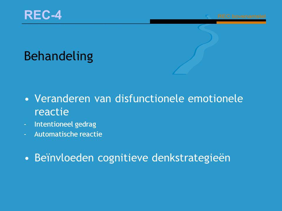 Behandeling Veranderen van disfunctionele emotionele reactie