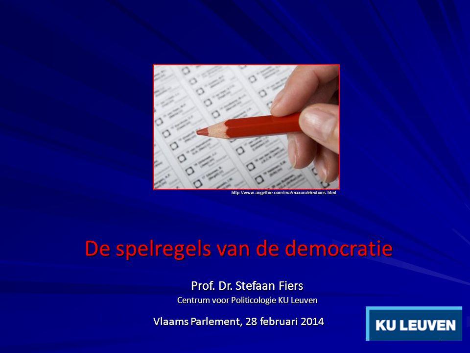 Vlaams Parlement, 28 februari 2014