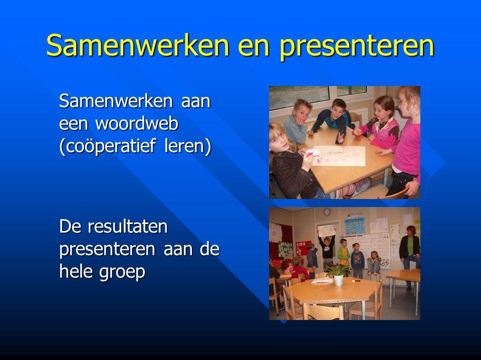 Samenwerken en presenteren