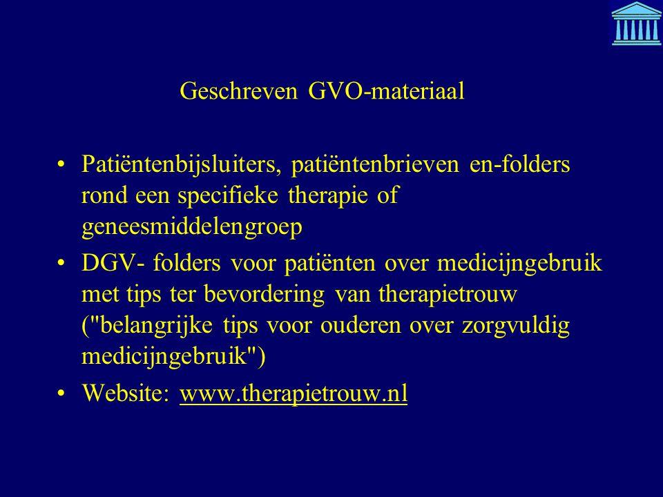 Geschreven GVO-materiaal