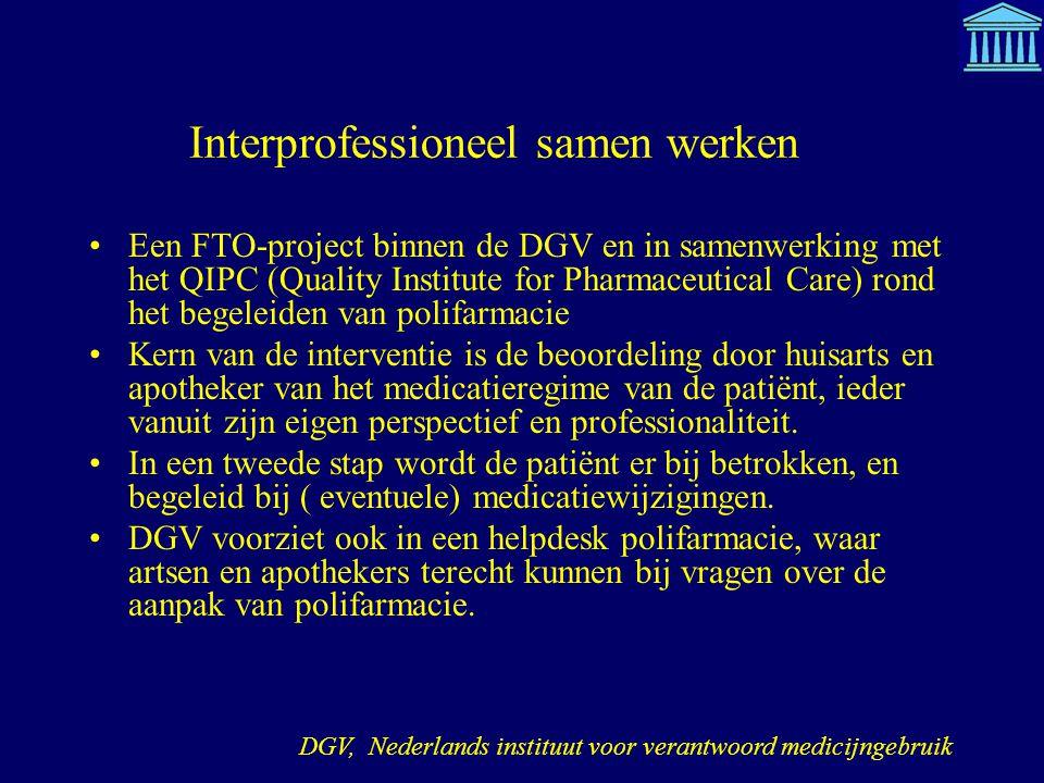 Interprofessioneel samen werken