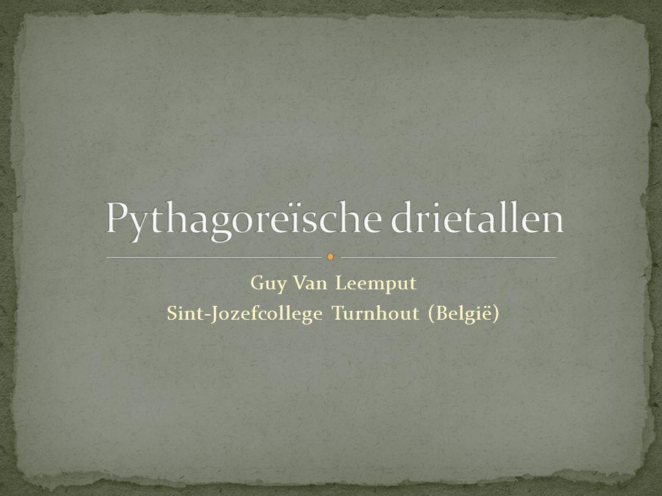 Pythagoreïsche drietallen