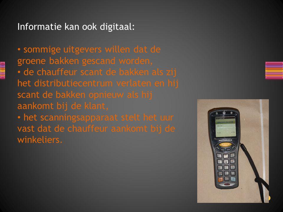 Informatie kan ook digitaal: