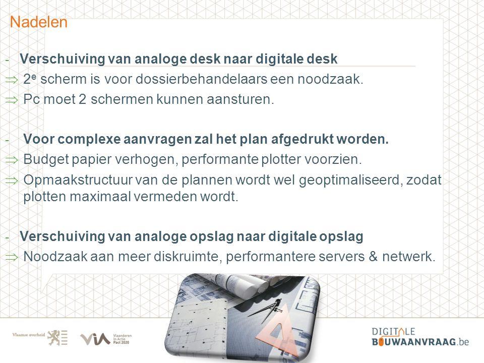 Nadelen 2e scherm is voor dossierbehandelaars een noodzaak.
