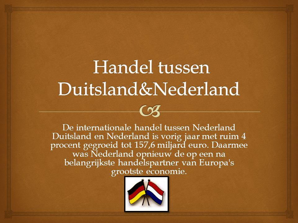 Handel tussen Duitsland&Nederland