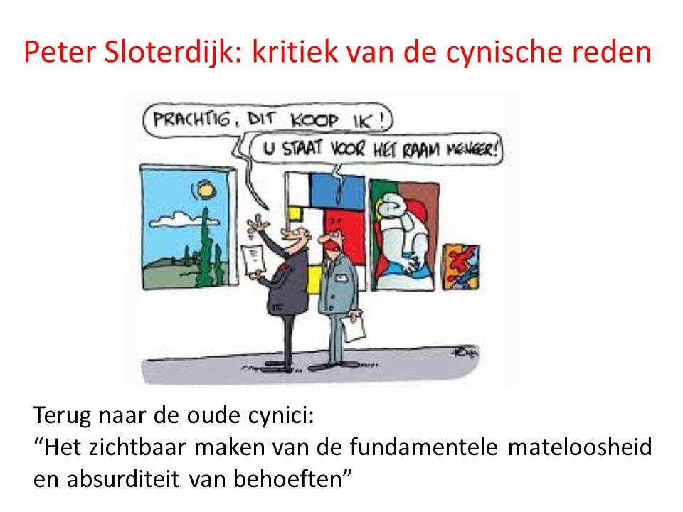Peter Sloterdijk: kritiek van de cynische reden
