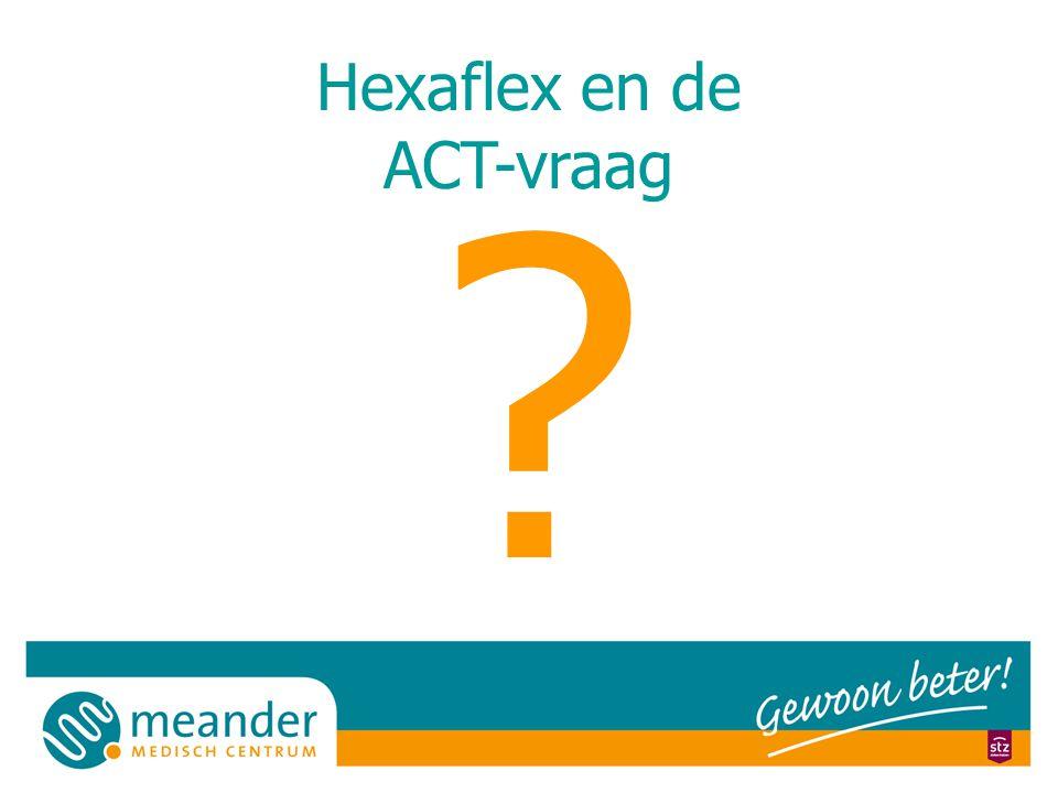 Hexaflex en de ACT-vraag