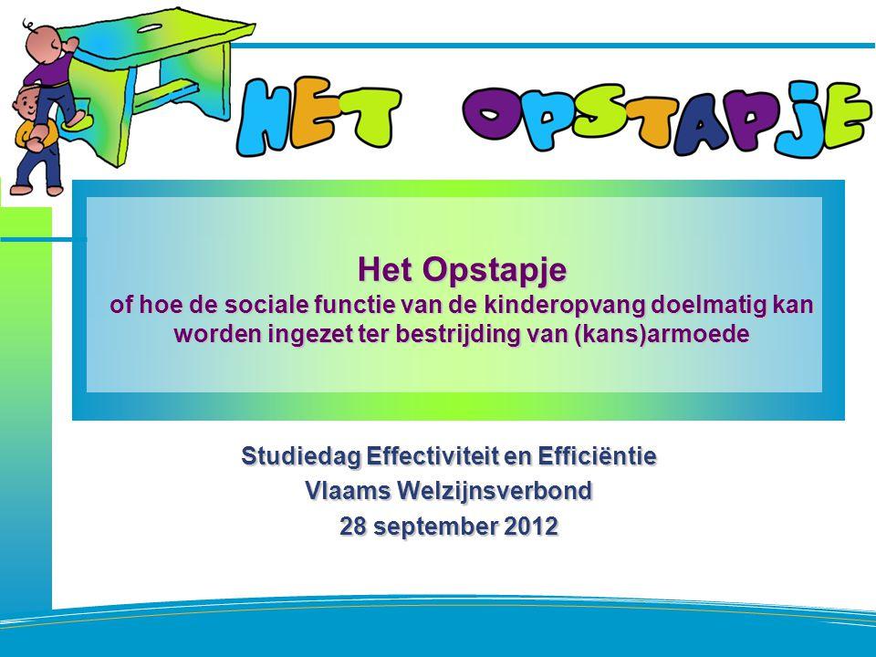 Studiedag Effectiviteit en Efficiëntie Vlaams Welzijnsverbond