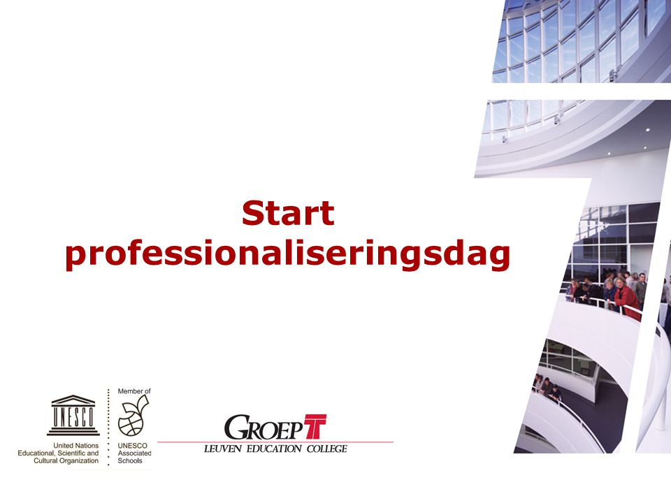 Start professionaliseringsdag