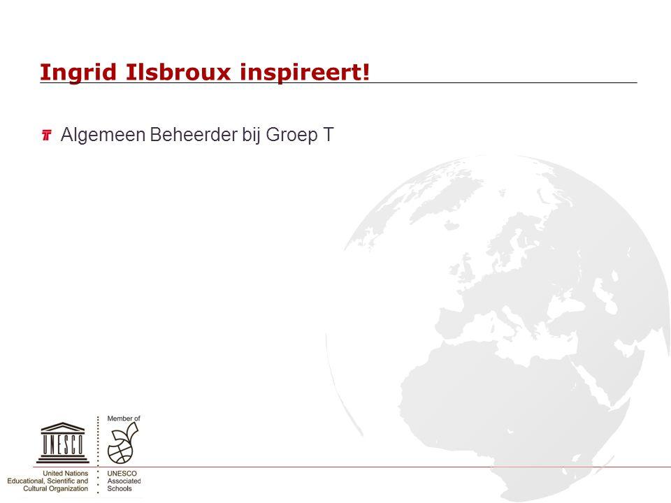 Ingrid Ilsbroux inspireert!