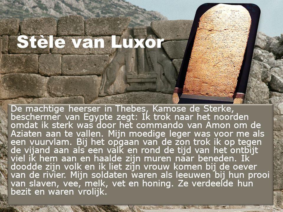 Stèle van Luxor