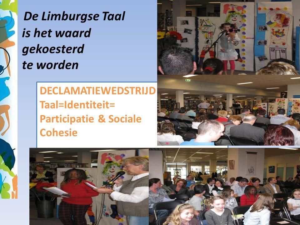 De Limburgse Taal is het waard gekoesterd te worden