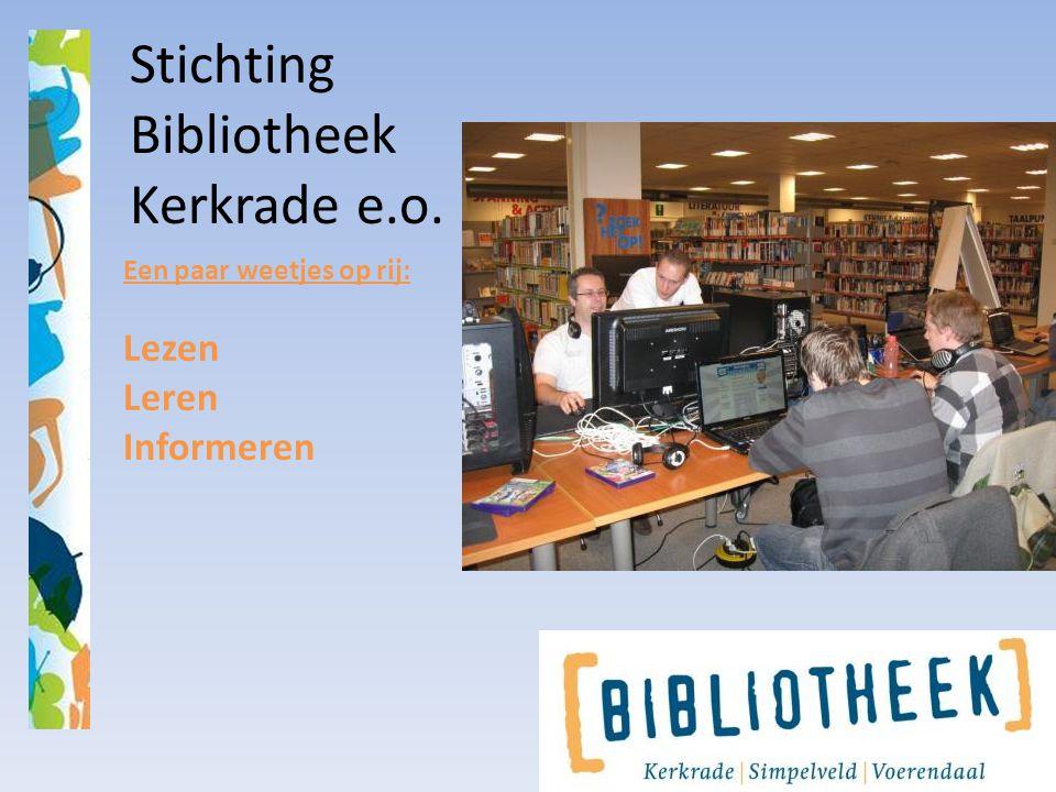 Stichting Bibliotheek Kerkrade e.o.