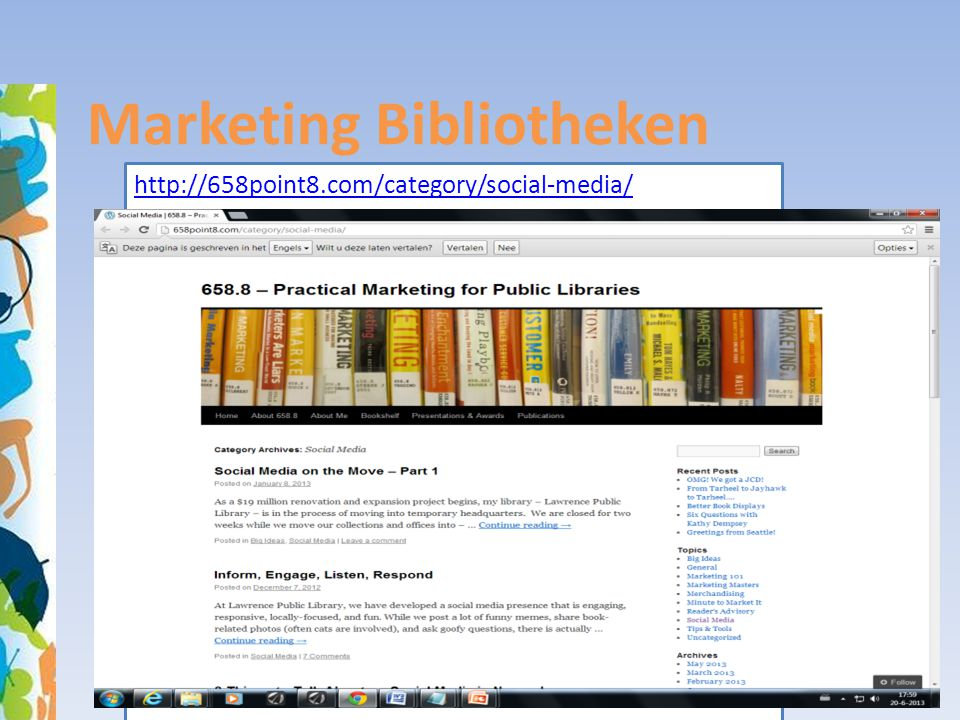 Marketing Bibliotheken