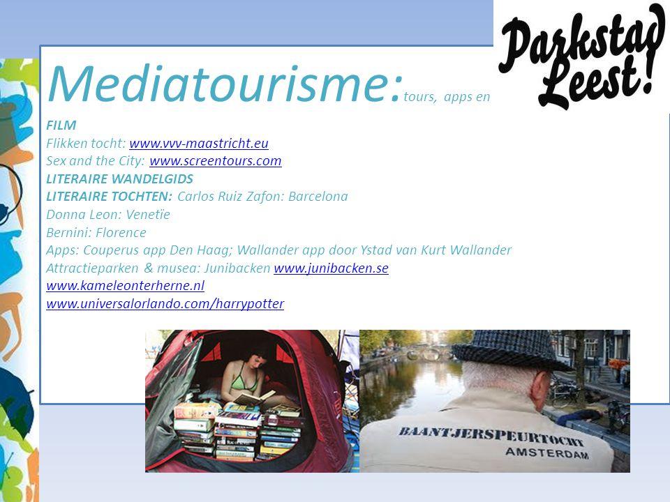 Mediatourisme:tours, apps en gidsen FILM Flikken tocht: www