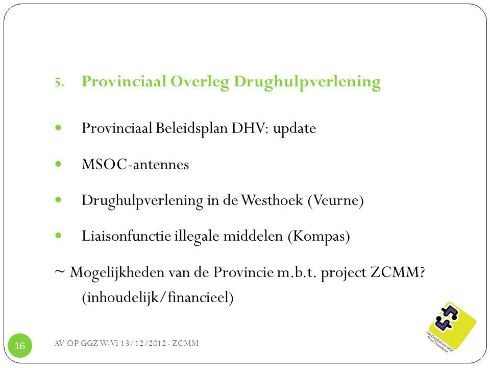 Provinciaal Overleg Drughulpverlening