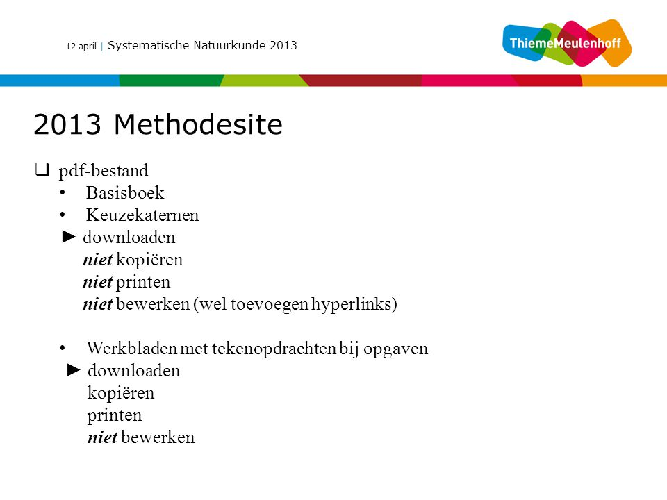 2013 Methodesite pdf-bestand Basisboek Keuzekaternen ► downloaden