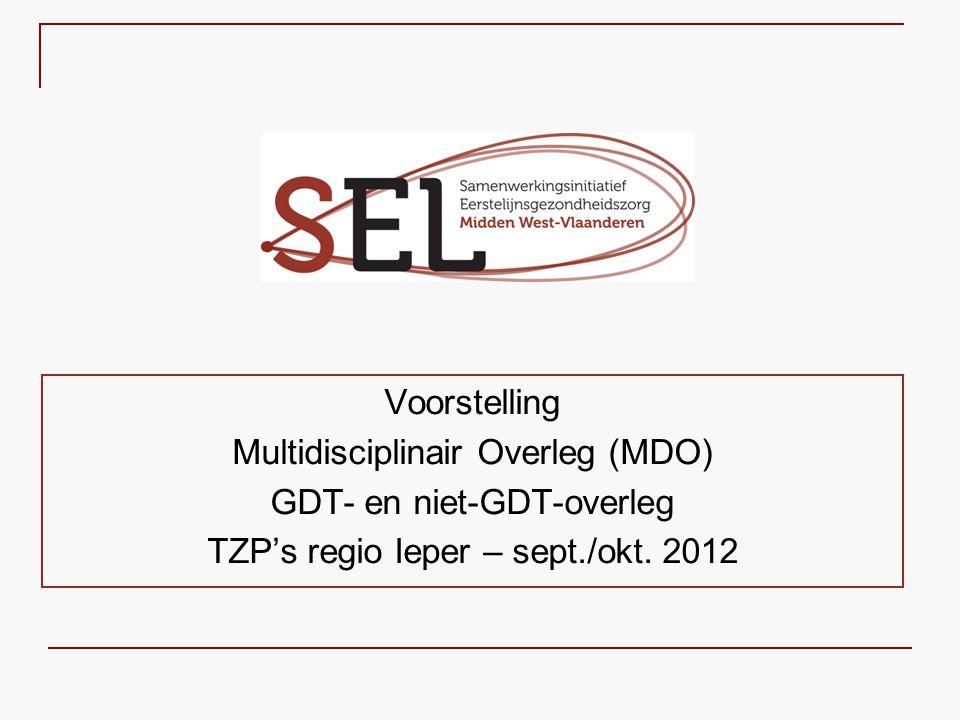 Multidisciplinair Overleg (MDO) GDT- en niet-GDT-overleg