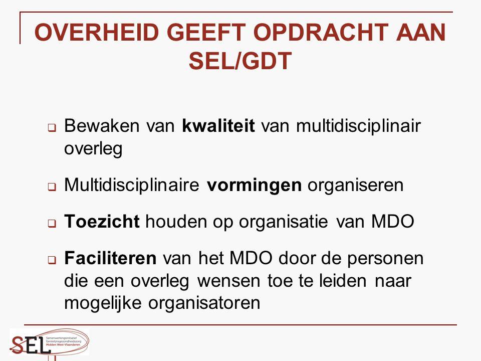 OVERHEID GEEFT OPDRACHT AAN SEL/GDT