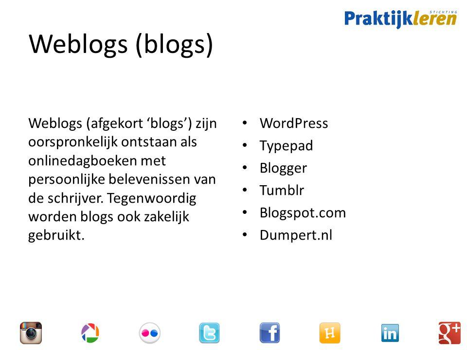 Weblogs (blogs)