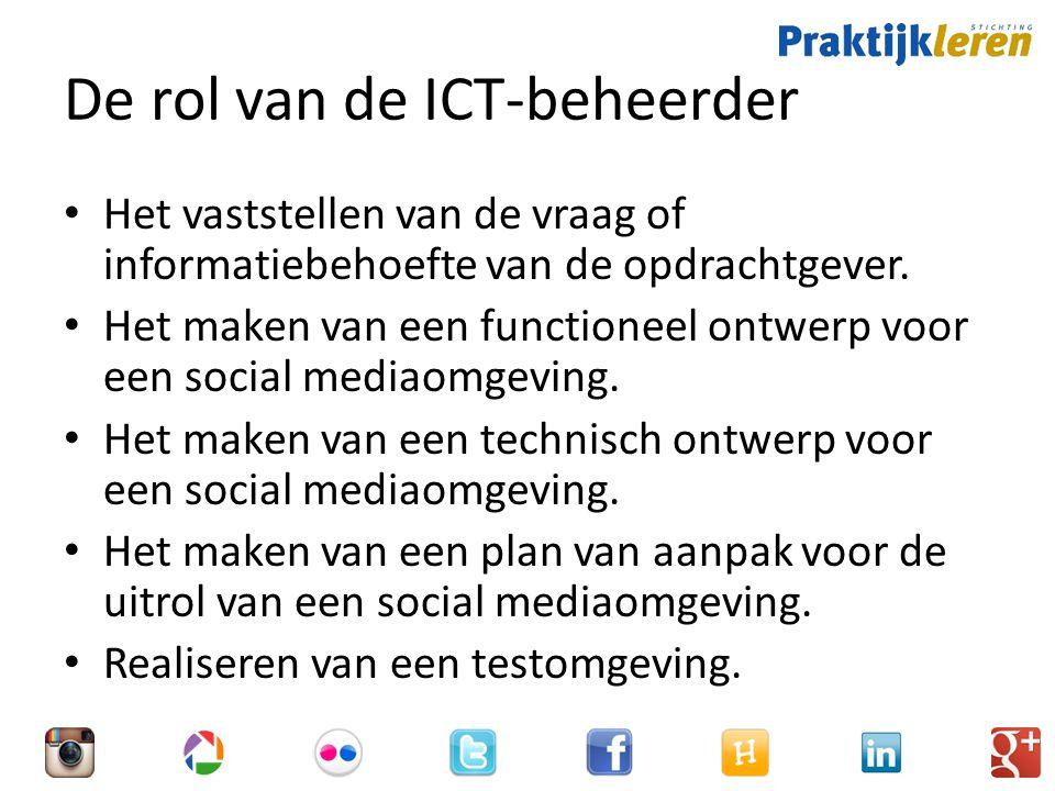 De rol van de ICT-beheerder