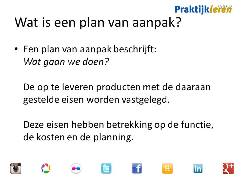 Wat is een plan van aanpak