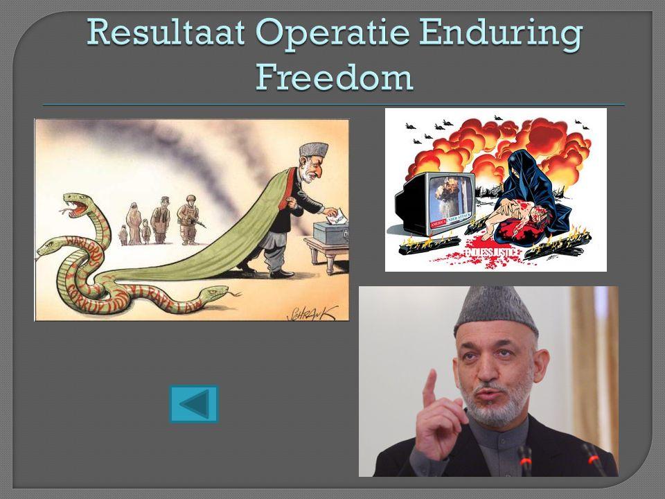 Resultaat Operatie Enduring Freedom