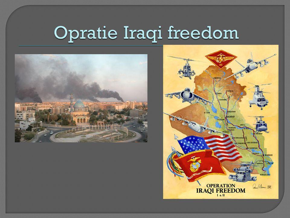 Opratie Iraqi freedom