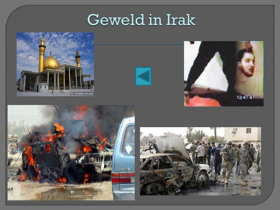 Geweld in Irak