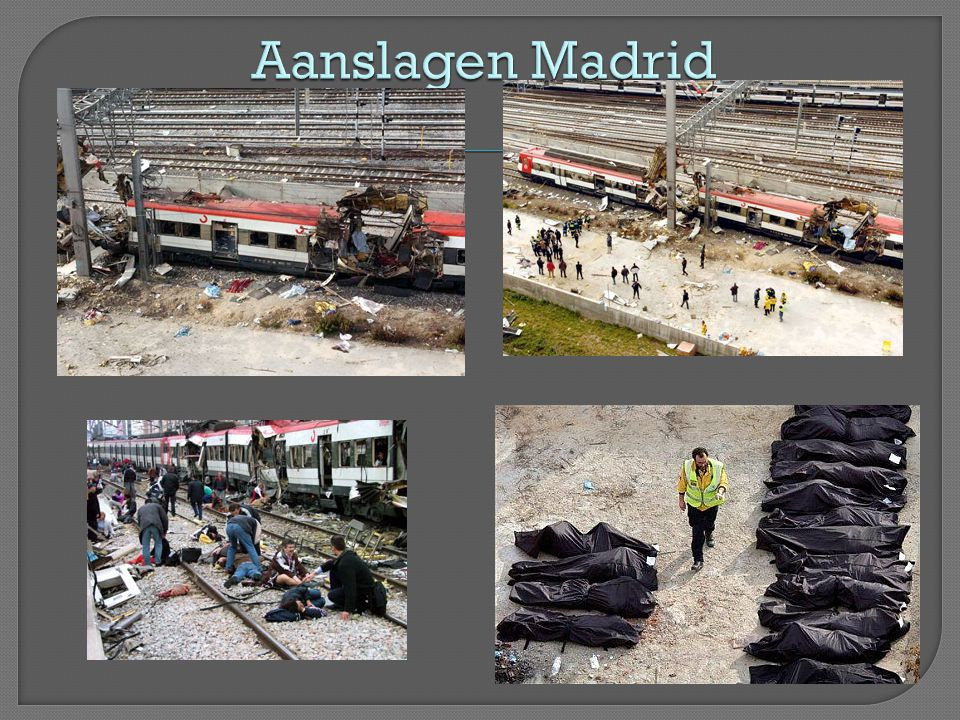 Aanslagen Madrid