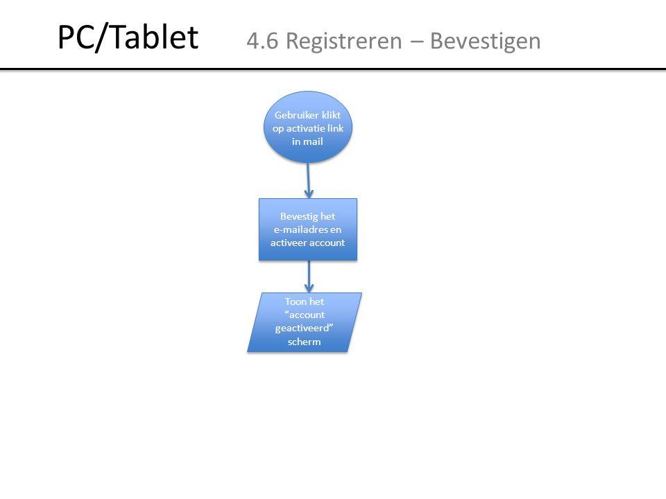 PC/Tablet 4.6 Registreren – Bevestigen