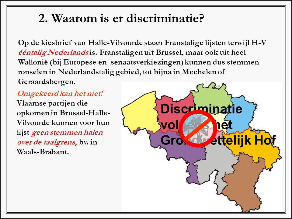 2. Waarom is er discriminatie
