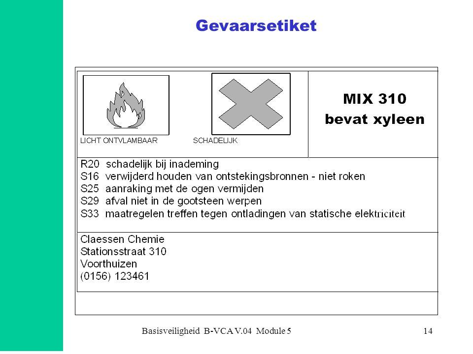 Basisveiligheid B-VCA V.04 Module 5