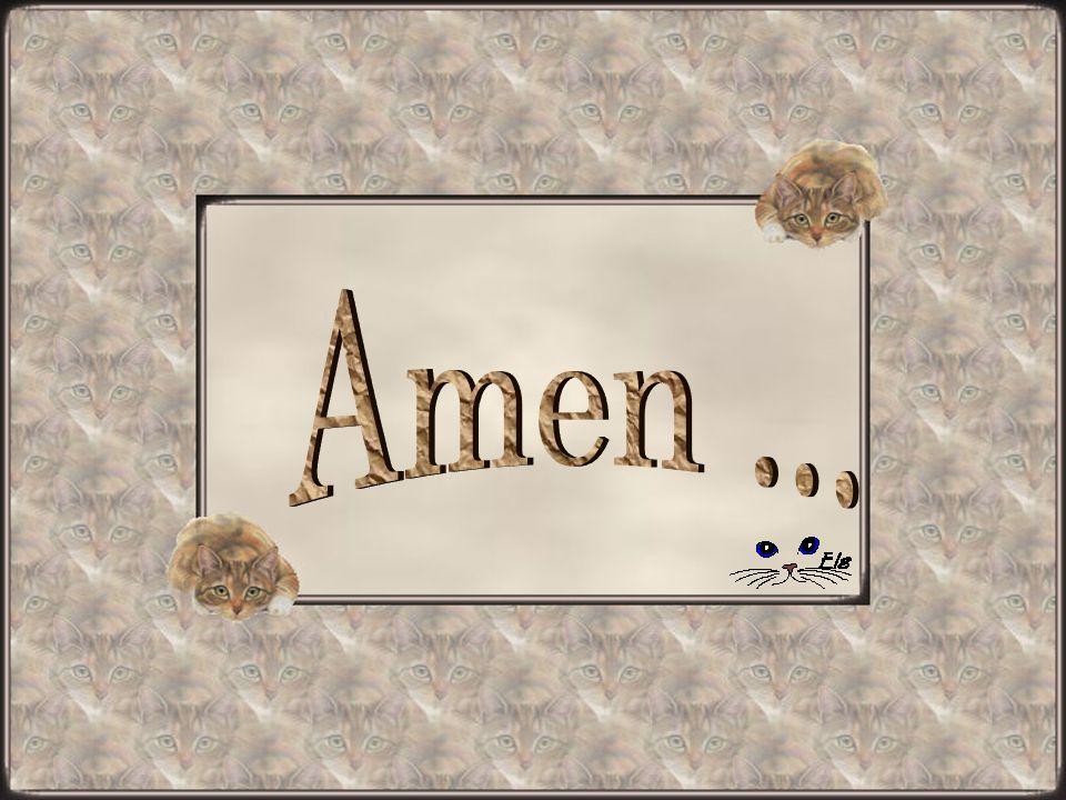 Amen ...