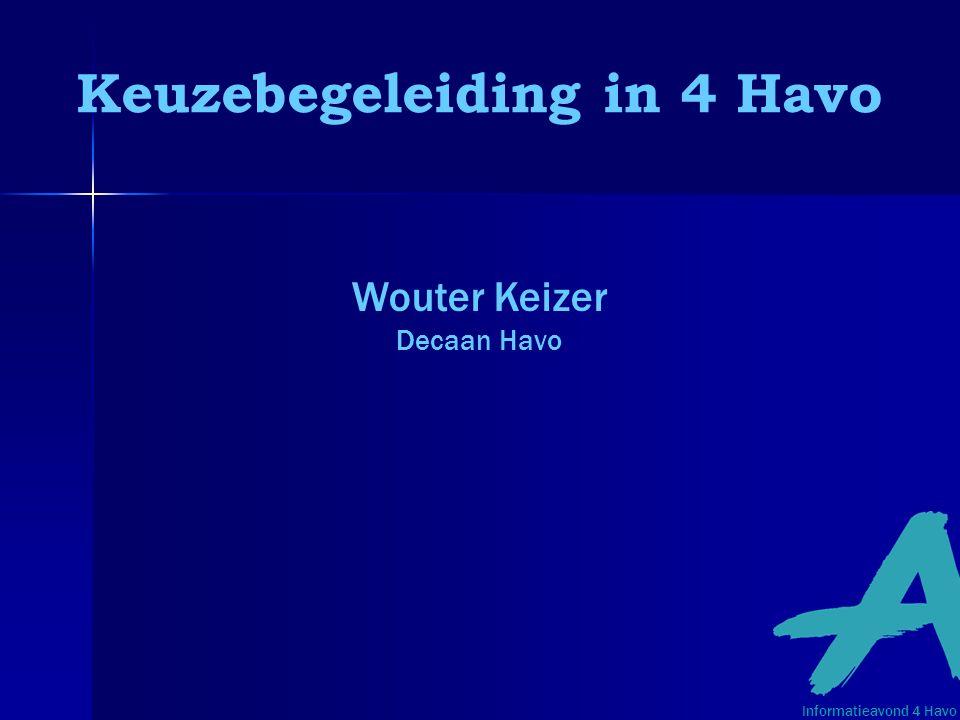 Keuzebegeleiding in 4 Havo