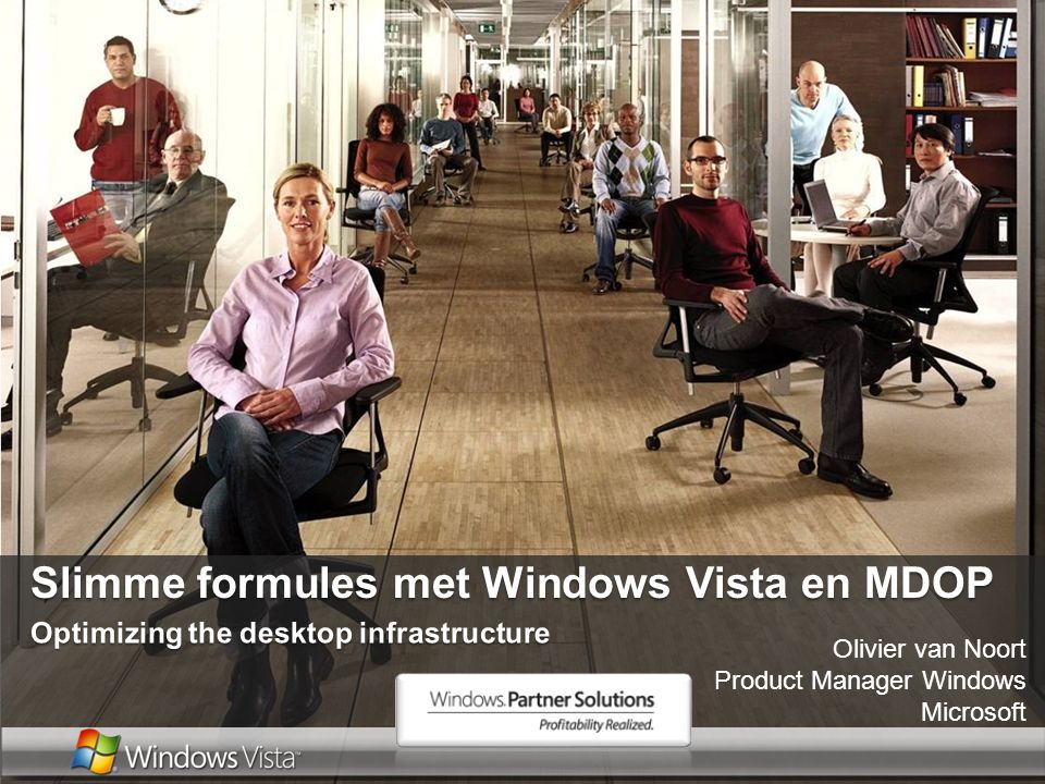 Slimme formules met Windows Vista en MDOP