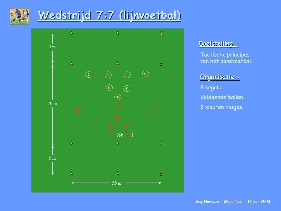 Wedstrijd 7:7 (lijnvoetbal)