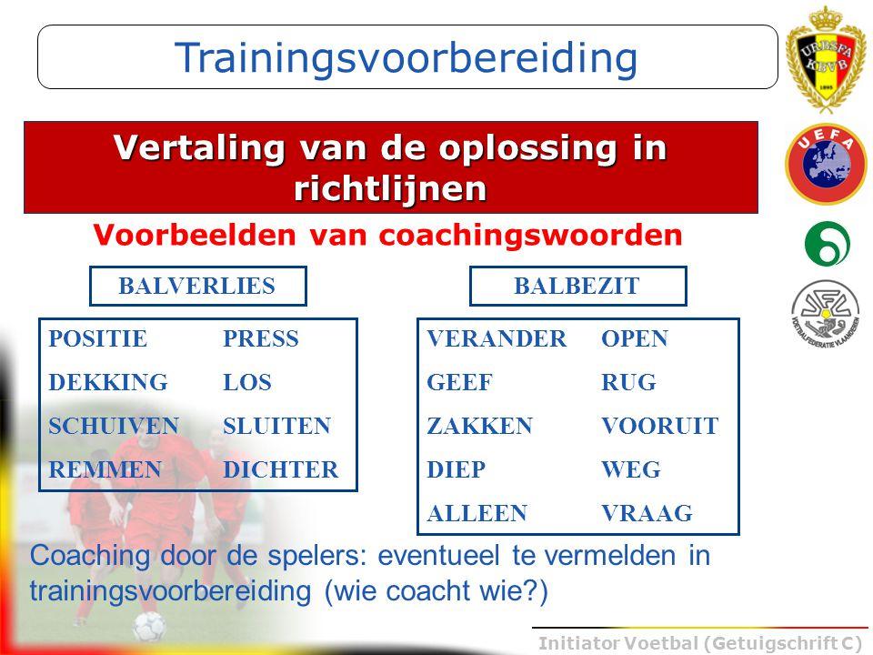 Trainingsvoorbereiding