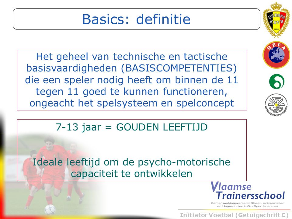 Basics: definitie