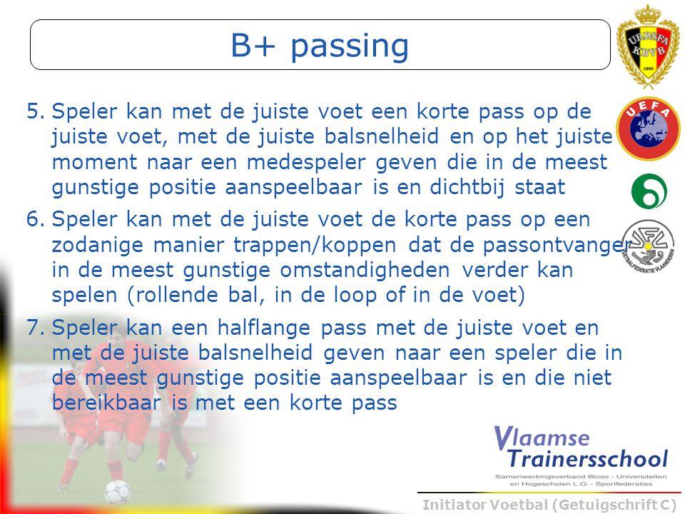 B+ passing