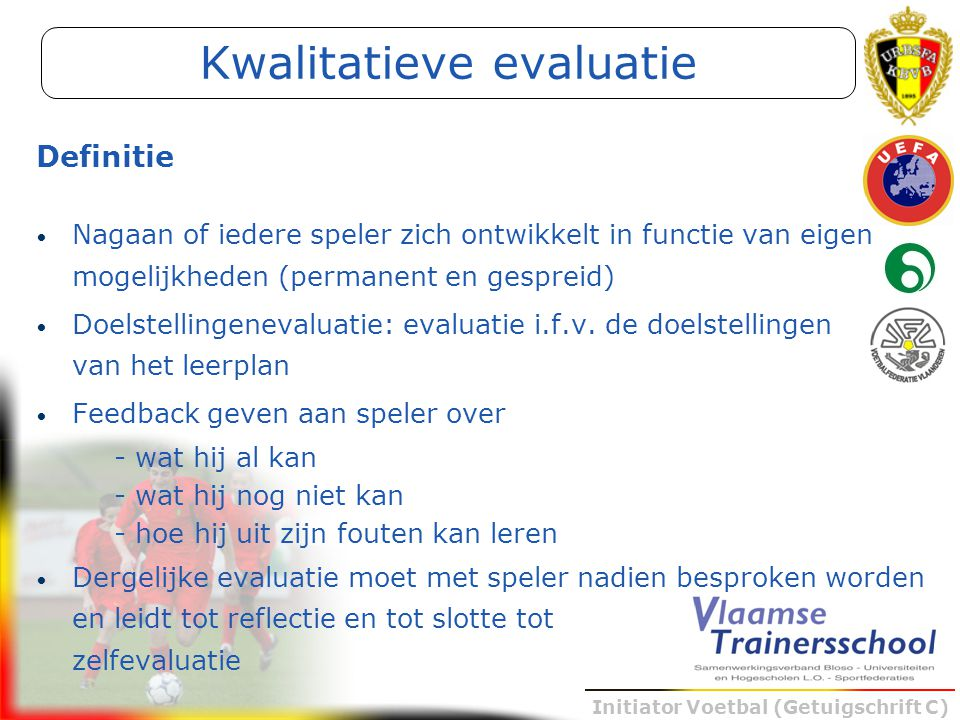 Kwalitatieve evaluatie