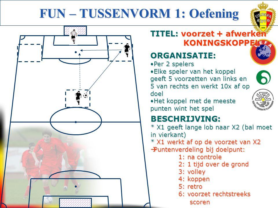 FUN – TUSSENVORM 1: Oefening