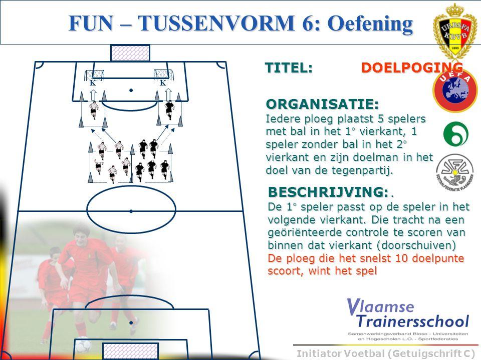 FUN – TUSSENVORM 6: Oefening