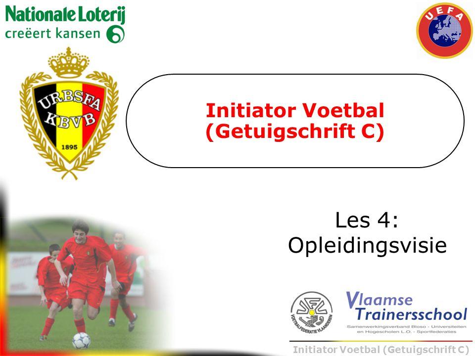 Initiator Voetbal (Getuigschrift C)