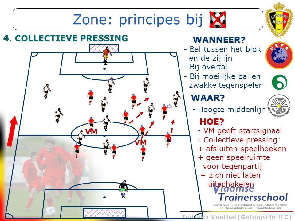 Zone: principes bij 4. COLLECTIEVE PRESSING WANNEER WAAR HOE
