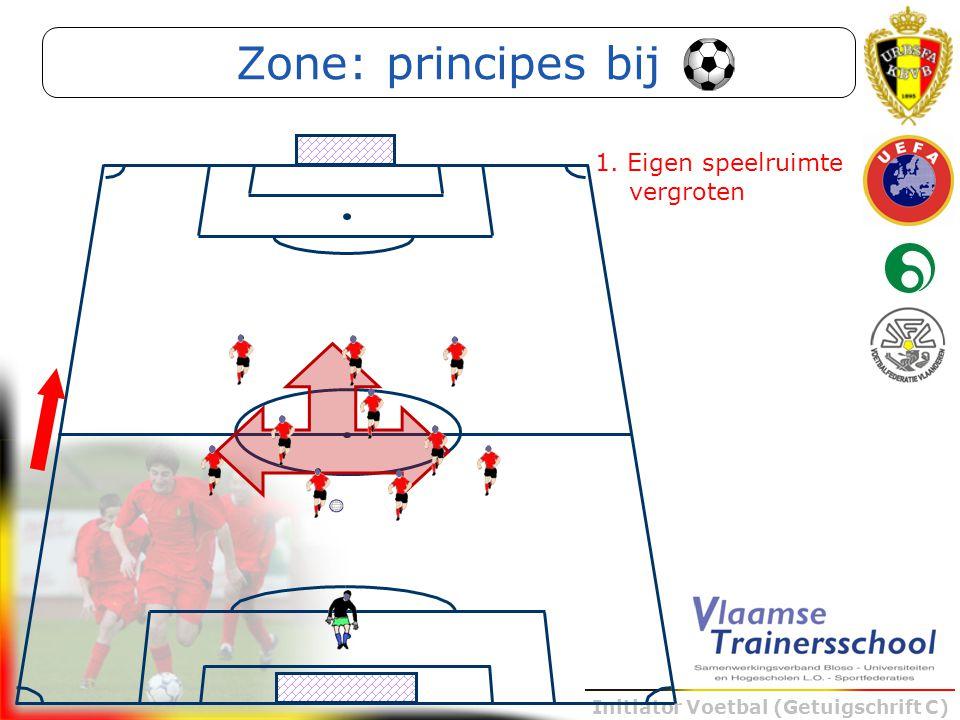 Zone: principes bij 1. Eigen speelruimte vergroten