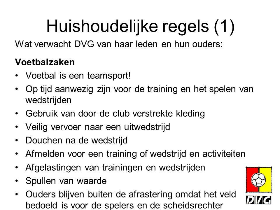 Huishoudelijke regels (1)