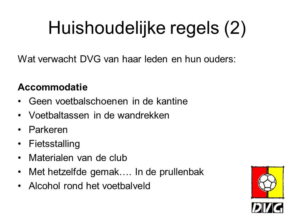 Huishoudelijke regels (2)