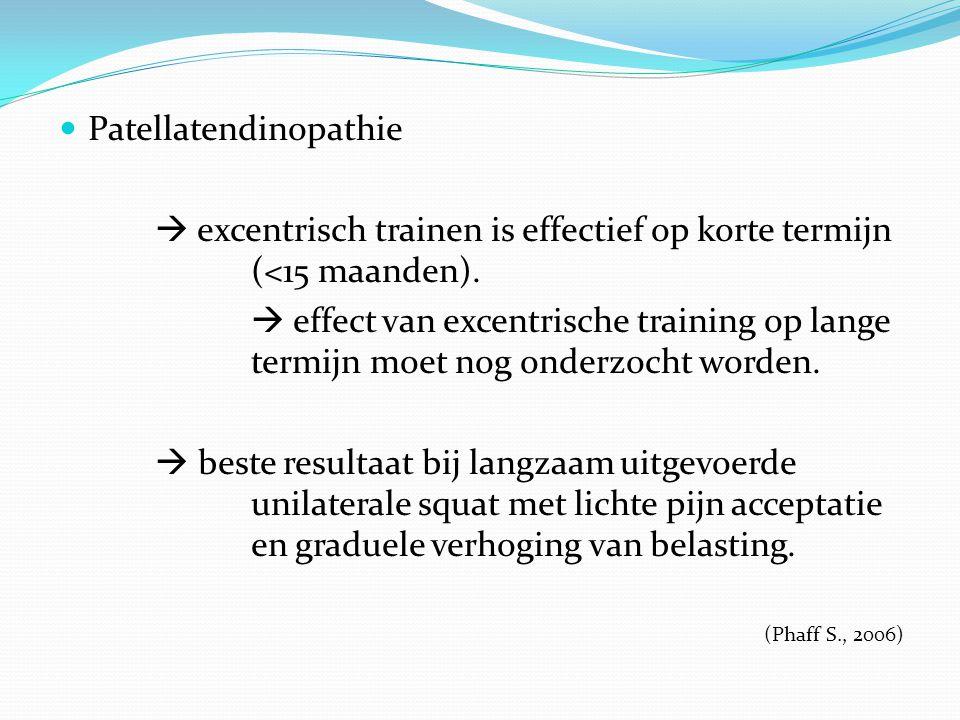 Patellatendinopathie