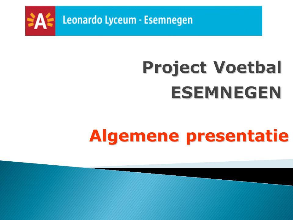 Project Voetbal ESEMNEGEN